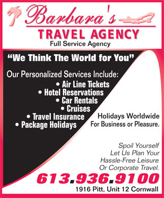 Sample Flyers For Travel
