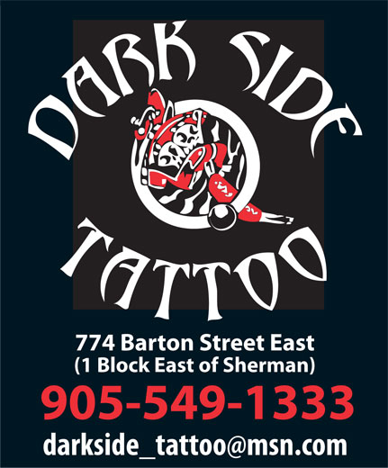 Darkside Tattoo (905-549-1333)
