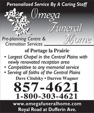 Portage La Prairie. Crematoriums in Portage-La-